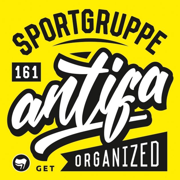 Sticker Pack Sportgruppe Antifa 100 Stück Aufkleber Stuff